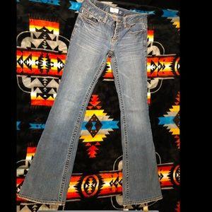 "Aeropostale ""hailey skinny flare"" jeans"